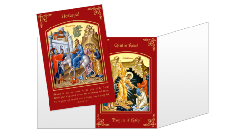 Community Cards - 2018 Easter Card Triptych
