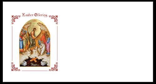 Community Cards - Easter 2020 Offering Envelop (Front)